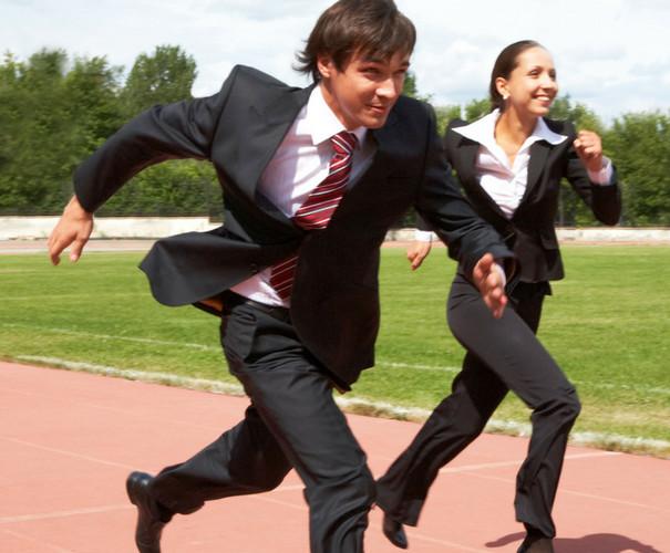 corporate running
